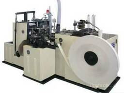 Equipment for the production of paper cups
