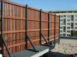 Изготовления деревянных балконов - фото 1