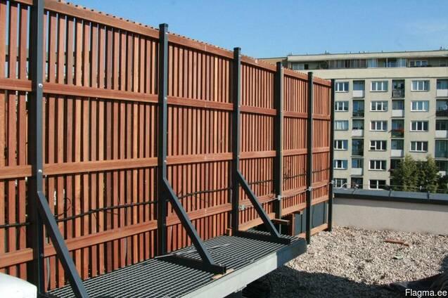Изготовления деревянных балконов