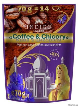 Кофе молотый с добавлением молотого цикория 70 грамм