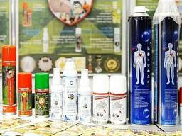 All types of certified aerosols from Russia