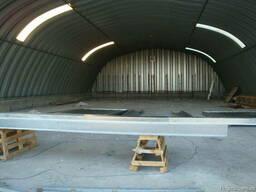 Ангары бескаркасные заводского изготовления - фото 2