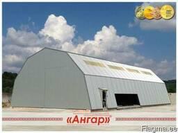 Ангары, склады, цеха, зернохранилища шириной от 8м до 24м