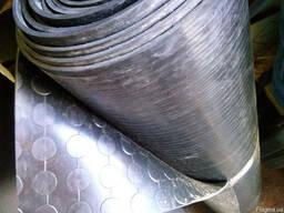 Автодорожка резиновая монетка