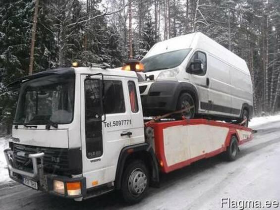 Эвакуация и буксировка автомобилей Таллинн, Эстония