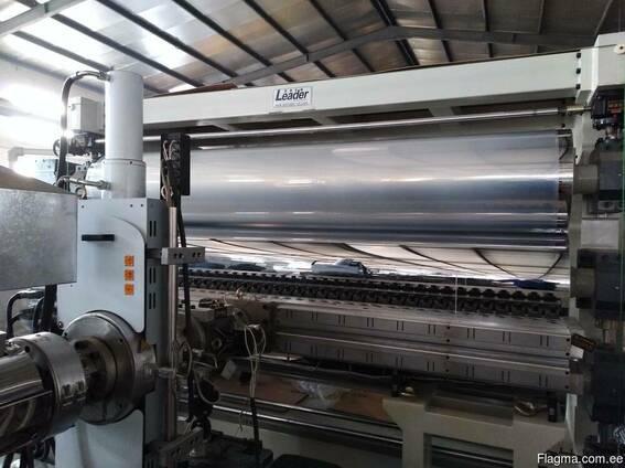 Экструзионная линия для полимерных листов