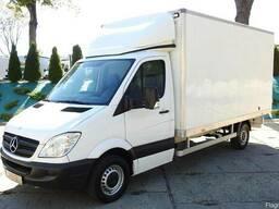 Фургон 20м3, грузоподъёмность 1 т. 8 паллет, гидролифт