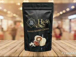 """Hadji"" chocolate dates with almonds"