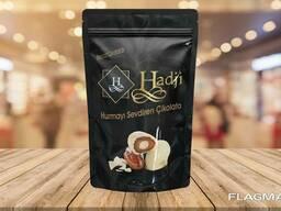 """Hadji"" chocolate dates with almonds"