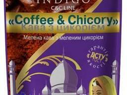 Кофе молотый с добавлением молотого цикория 100 грамм - фото 1
