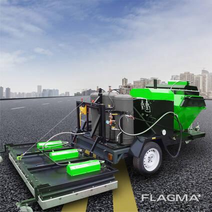 Комплект для ямочного ремонта дорог МИРА-3 инфракрасной технологии TICAB