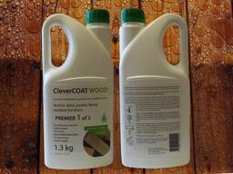 Нанозащита clevercoat дерево премьер (1. 3кг канистра)