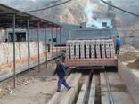 Оборудование туннельная печь для обжига кирпича купить Китай - фото 1