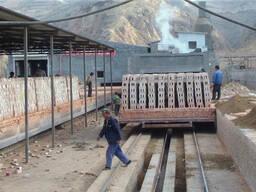 Оборудование туннельная печь для обжига кирпича купить Китай