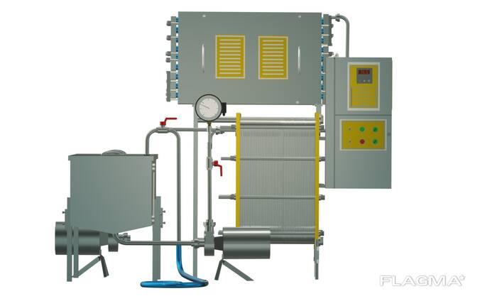 Пастеризатор 3 т/ч проточный УЗМ-3,0Р
