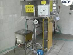 Пастеризатор молока проточный