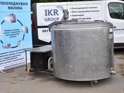 Piimajahuti 1000 l. Охладитель молока 1000 литров