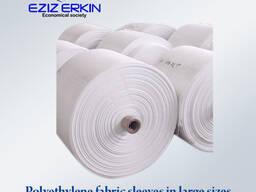 Полиэтиленовый ткань рукава 100см, 120см, 140см