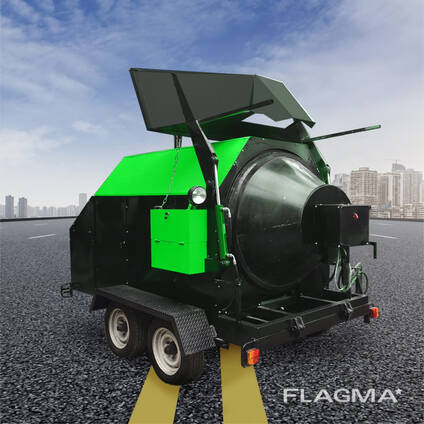 Рециклер Асфальта мини асфальтный завод RA-800 TICAB